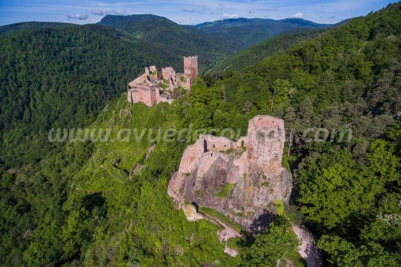 Château du Girbserg et Saint-Ulrich