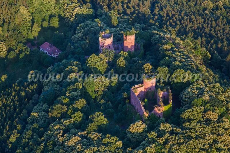 Château de Rathsamhausenet Lutzelbourg