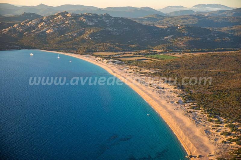 Domaine de Murtoli, plage d'Erbaju