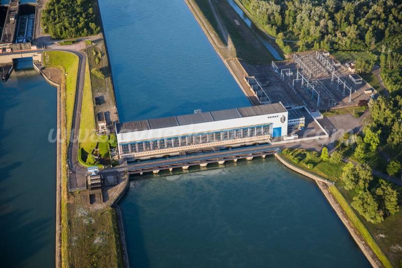 Centrale hydroélectrique de Rhinau