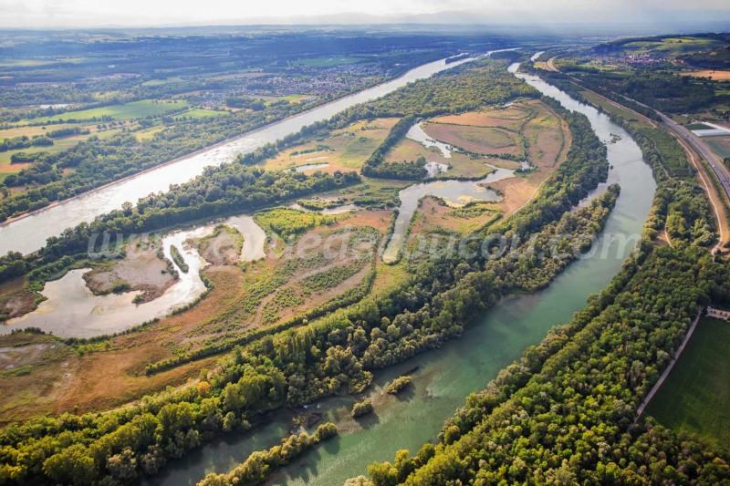 L'ïle du Rhin - Village-Neuf