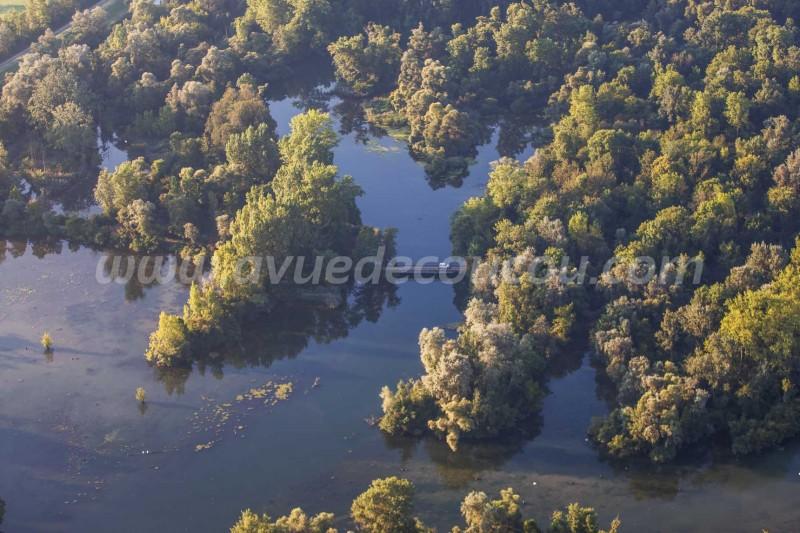Vogelbeobachtungsturm Flachwasserzone