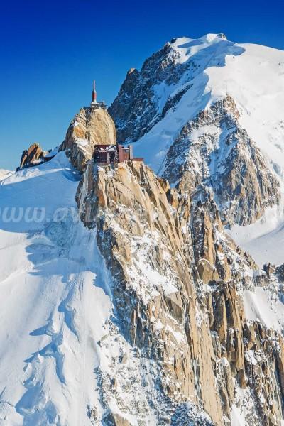 Lausanne et le Mont-Blanc