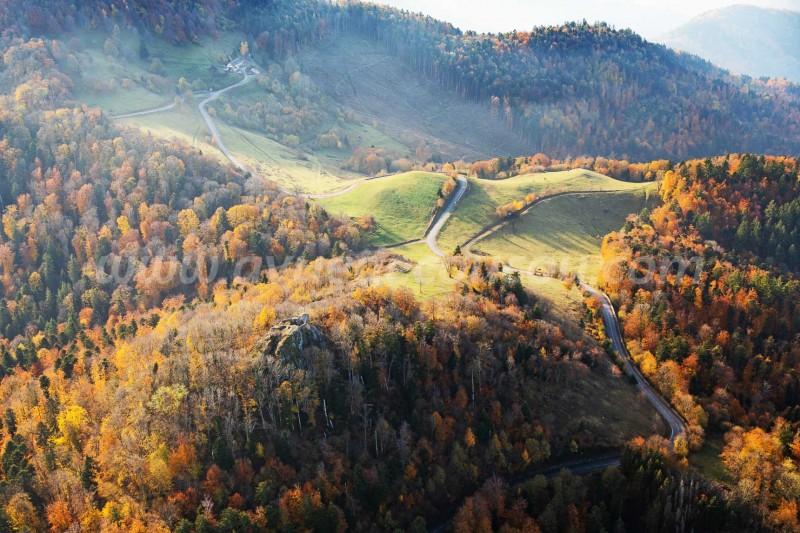 Col et château du Freundstein