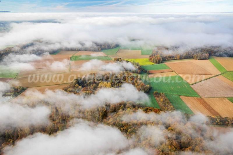 Sundgau erntre les nuages