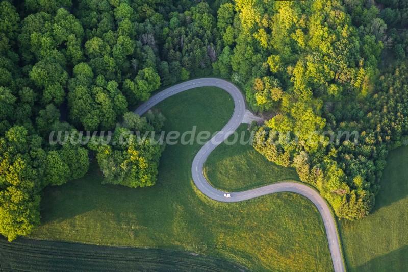 Route sinueuse - Soppe-le-Haut