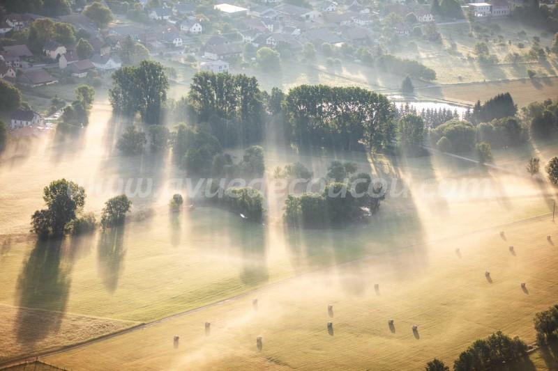 La Largue brumeuse