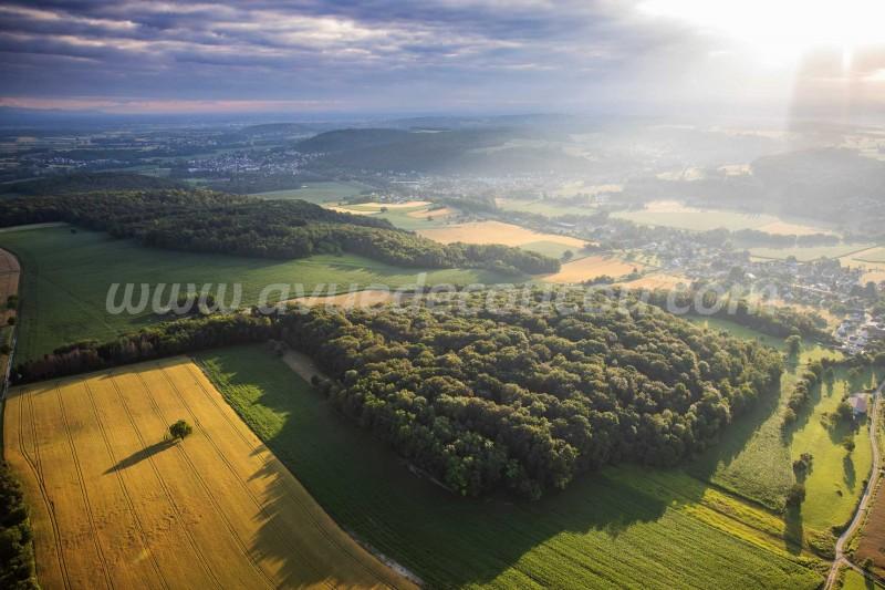 Lever de soleil - Sundgau